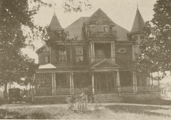 Photo of The Maples, a large mansion in arts annex